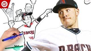 MLB All-Star Patrick Corbin: Draw My Life