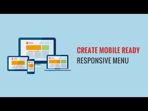 How to Create a Mobile Ready Responsive WordPress Menu