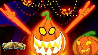 Five Little Pumpkins | Halloween Songs Collection Scary Nursery Rhymes For Kids by Howdytoons