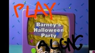 Barney's Halloween Party Play Along LIVE 🔴