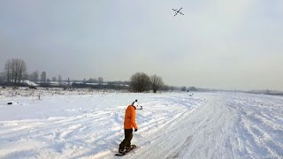 Ever Gone Drone-Boarding? snOw-M-G This Looks Awesome!