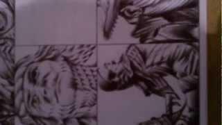 MOVIE Avatars - Ball-point pen drawing