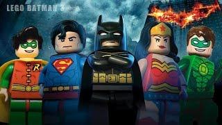 Justice League - Batman & Robin Gameplay HD!