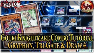 GOUKI KNIGHTMARE Combo Tutorial #2: Gouki + Warrior = Tri-Gate, Gryphon, Searched Floodgate & Draw 4