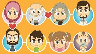Family Members in Arabic for Kids – Learn Family Members with Zakaria