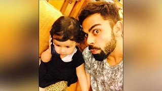 Virat Kohli posts selfie with Dhoni's daughter Ziva, pic went viral