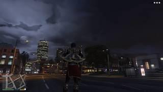 GTA 5 Franklin God of War VS Superman