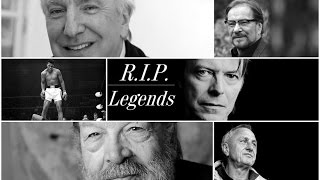 Celebrities who died in 2016...