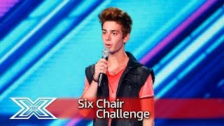 Luca Valenti sings Jess Glynne's Take Me Home | Six Chair Challenge | The X Factor 2016