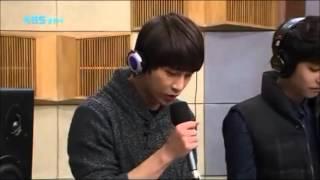 131130 A-JAX - Because I'm Stupid (SS501) Live at Sukira Kiss The Radio