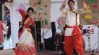 Ailo ailo ailore ronge vora boishakh | আইলো আইলো আইলোরে রঙে ভরা বৈশাখ -at BUBT Boishakhi Dance