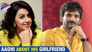 Aadhi about his Girlfriend Nikki Galrani | Manchu Manoj and Aadhi Pinisetty Funny Interview | Malupu