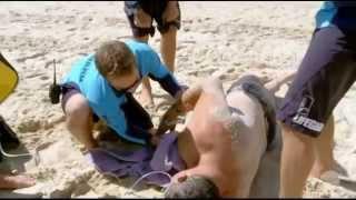 Heart Attack - Cardiac Arrest - CPR (Bondi Rescue Season 9 Episode 9 Part 1)