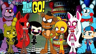 Teen Titans Go! Color Swap Transforms Five Nights at Freddys Surprise Egg and Toy Collector SETC