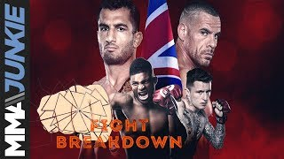 Bellator London fight breakdown: Gegard Mousasi vs  Rafael Lovato Jr