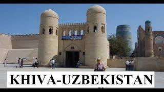 Uzbekistan/Beautiful Khiva City Walls Part 2