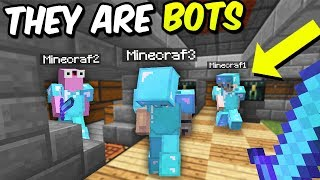 RICH RAID BUT EVERY SINGLE PLAYER WAS A BOT! | Minecraft FACTIONS #402