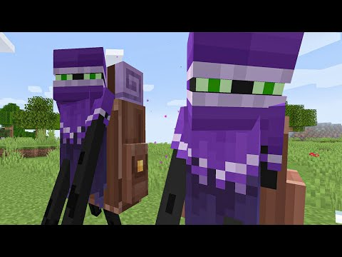 I coded Enderman differently in Minecraft