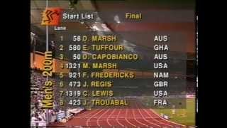 World Championships in Athletics 1993 - 200 Metres Men