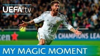Sergio Ramos goal: Real Madrid v Atlético 2014 UEFA Champions League final