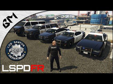 GTA 5 - LSPDFR - Découverte - GUNFIGHT - Patrouille 01