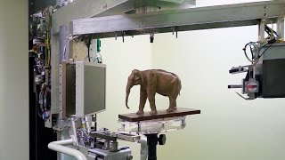 Thai Elephant Sculpture - 3D Scan, Printing + File Download