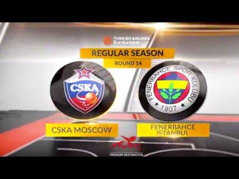Highlights: CSKA Moscow-Fenerbahce Istanbul