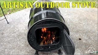 Making a Barrel Stove from a 30 Gallon Drum