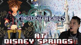 Kingdom Hearts 3 Experience AT DISNEY SPRINGS!