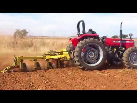 Demostracion tractor mf 285