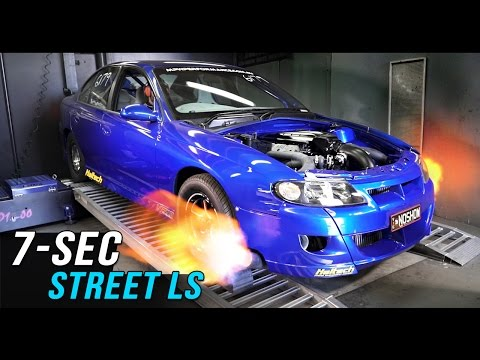7-second Street twin turbo LS by MPW