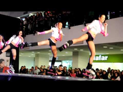 Kangoo Jumps la Arena Mall Bacau Aerobic pe arcuri 20 martie 2010 part. 2