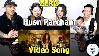 Asians Watch ZERO Husn Parcham Video Song  Shah Rukh Khan, Katrina Kaif, Anushka   Reaction