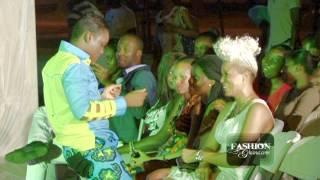 Lap Dance For Ghanaian Designer Beatrice Arthur  Aketesia Fashion Show