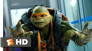 Teenage Mutant Ninja Turtles 2 (2016) - NYPD Escape Scene (6/10) | Movieclips