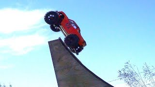 RC ADVENTURES - JUMP WiTH ME - 8S Traxxas X Maxx Flight Time