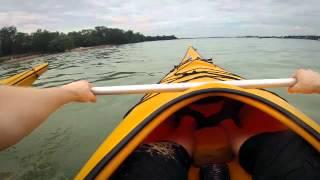 Kayaking from Pasir Ris to Palau Ubin, Singapore