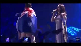 Джамала и голая попа на сцене Евровидение 2017!Подтанцовка Джамалы! Позор!