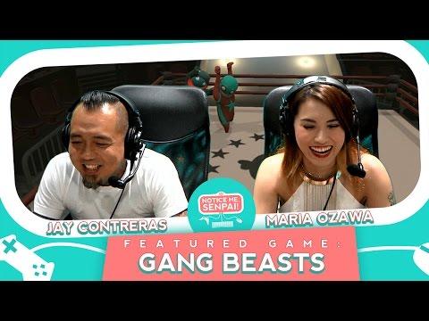 Xxx Mp4 Gang Beasts With Maria Ozawa And Jay Contreras Notice Me Senpai 3gp Sex