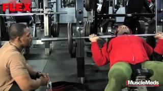 Train with Kai Greene Chest Workout