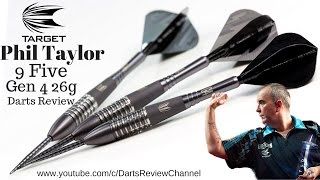 Target Phil Taylor Power 9 Five Gen 4 26g darts review
