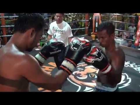 Singsuk Eaglemuaythai vs Nin Sitkrumat BBQ Beatdown 100