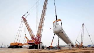 The Most Powerful Crawler Crane in The World