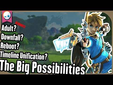 Breath of the Wild Timeline Theories Explained Gnoggin