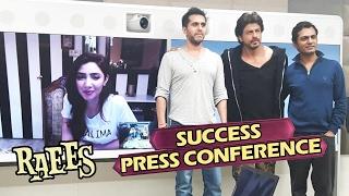 Download RAEES SUCCESS Press Conference - FULL VIDEO - Shahrukh Khan, Mahira Khan, Nawazuddin 3Gp Mp4
