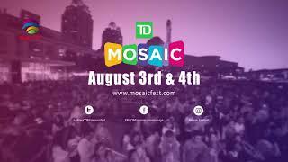 Mississauga Mosaic Festival 2018 - August 3-4, 2018