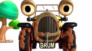 Brum and The Muddy Puddle 💩💦️🚗️ BRUM New Full Episodes English - S01E01 HD