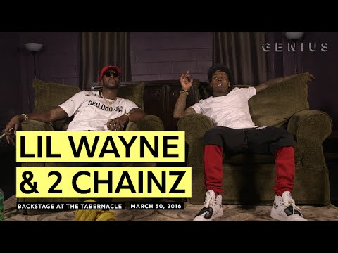 Lil Wayne Teared Up After Hearing 2 Chainz's