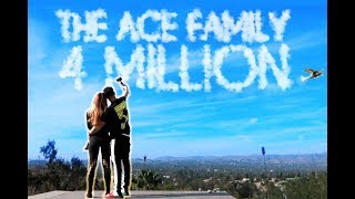 4 MILLION ACE FAMILY MEMBERS!!! (YOU WON