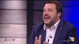 L'intervista al ministro dell'Interno e vicepremier Matteo Salvini